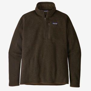 Patagonia Men's Better Sweater Brown Large L
